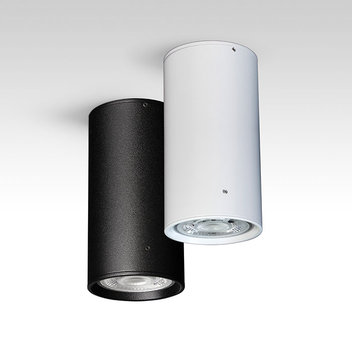 Spot cilindric aplicat cu LED Ambiflux Rigel